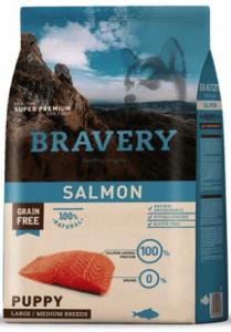 9) Bravery Puppy Salmon Yavru Köpek Maması